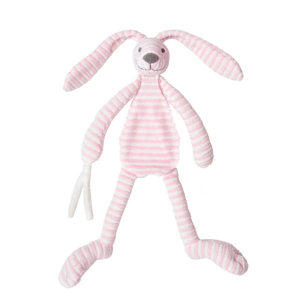 Happy Horse konijn Reece knuffeldoekje, Roze