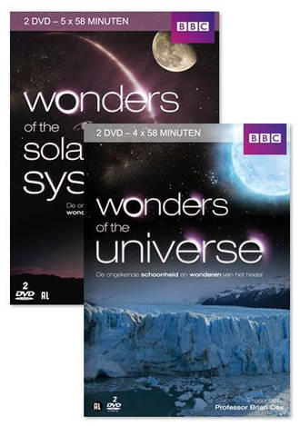 BBC wonders of the solar system/BBC wonders of the universe (DVD)