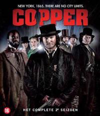 Copper - Seizoen 2 (Blu-ray)