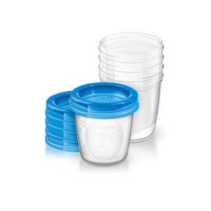 SCF619/05 bewaarbeker voor moedermelk (5 stuks)