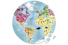 wereldkoffer  legpuzzel 208 stukjes