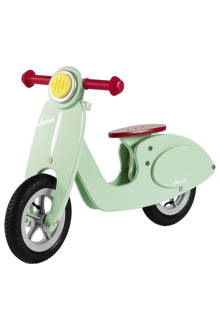 loopfiets scooter mint