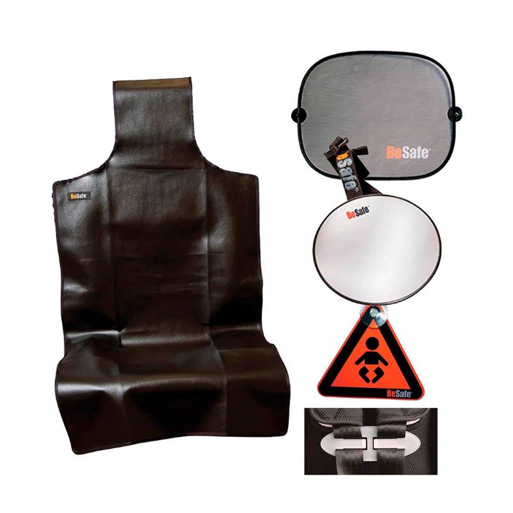 BeSafe accessoirepakket tegen de rijrichting in, Zwart