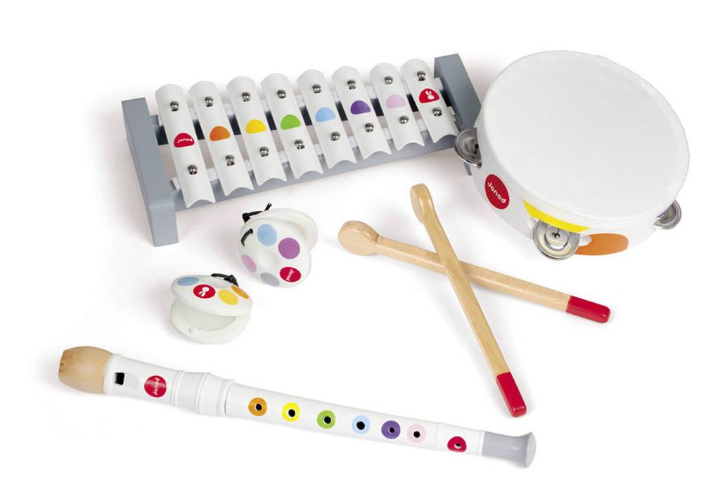 Janod houten muziekinstrumenten set
