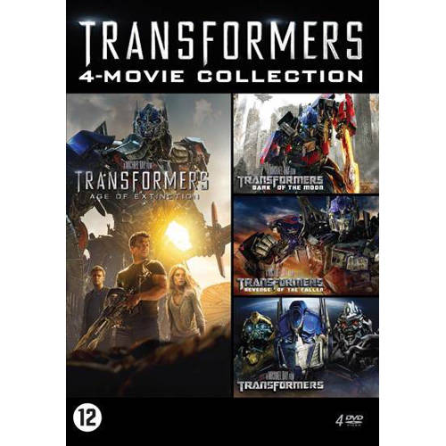 Transformers - 4 movie collection (DVD) kopen