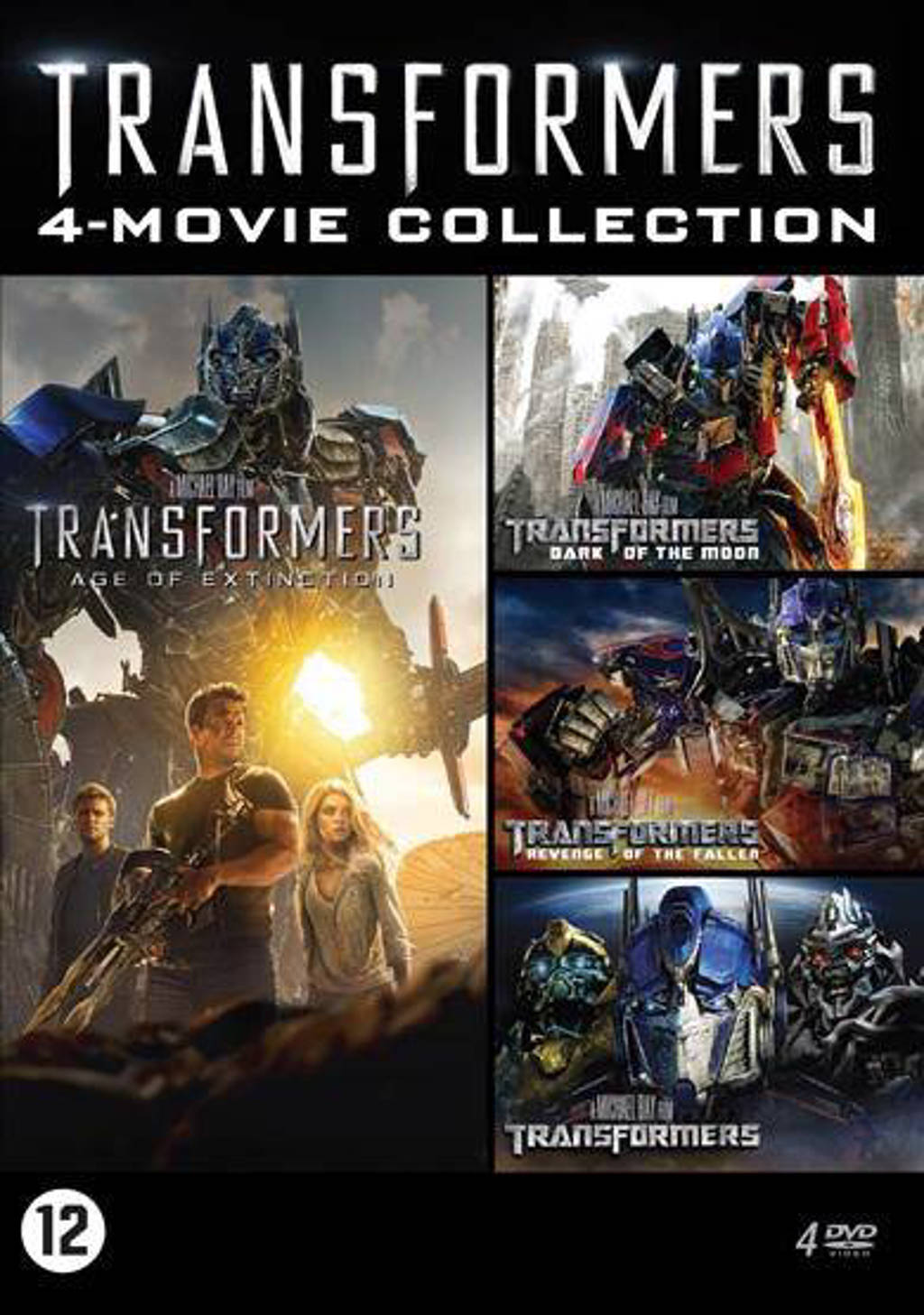 Transformers - 4 movie collection (DVD)