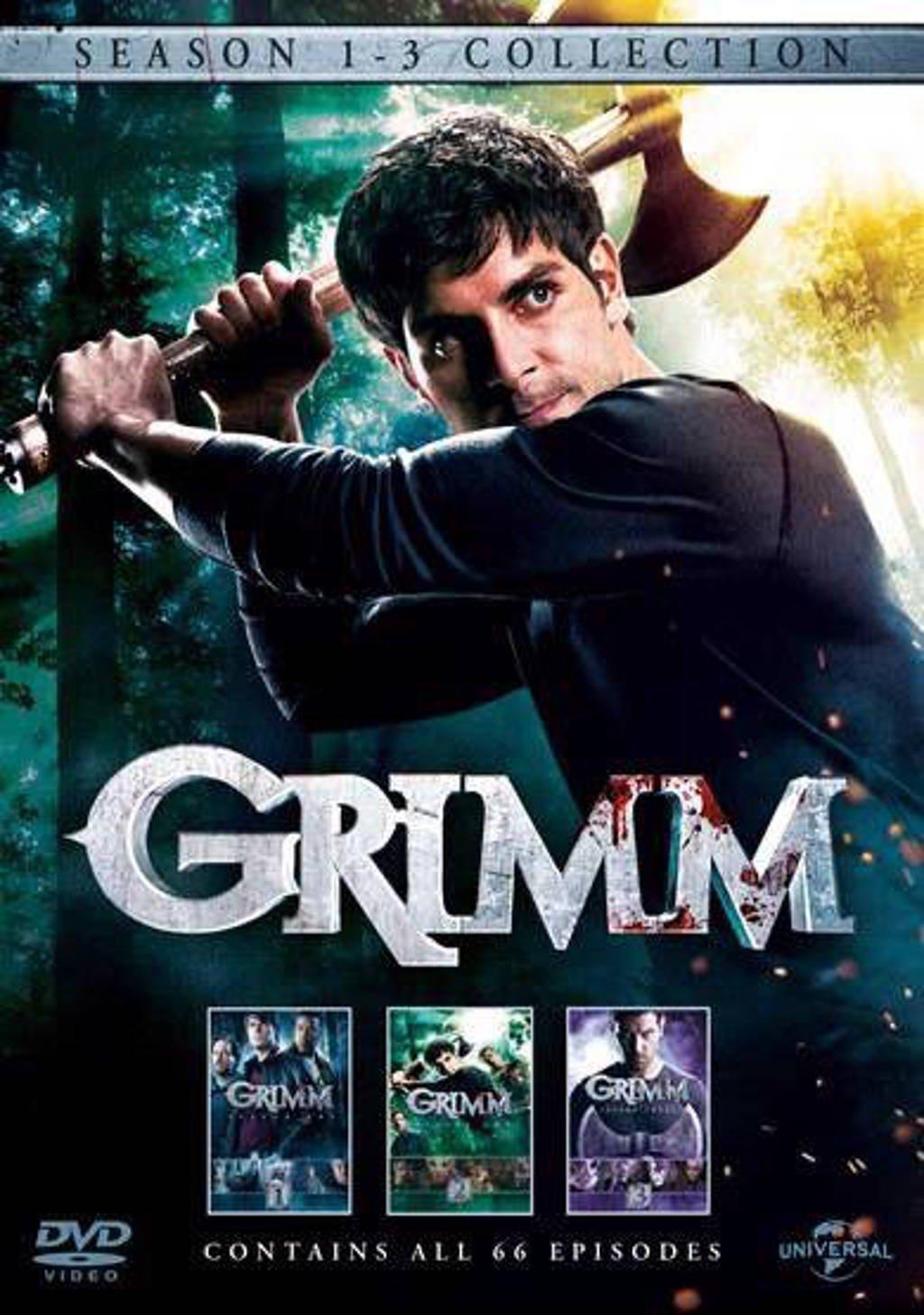 Grimm - Seizoen 1-3 (DVD)