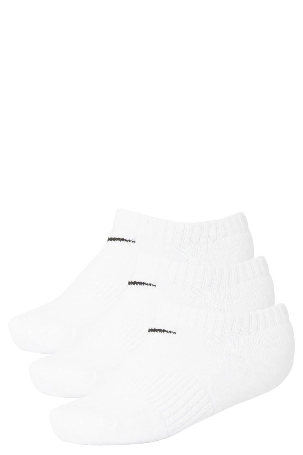 Nike sportsokken - set van 3 wit, Wit