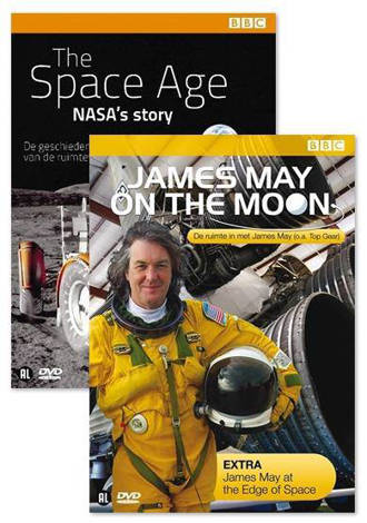 Space age - Nasa's story/James May on the moon (DVD)