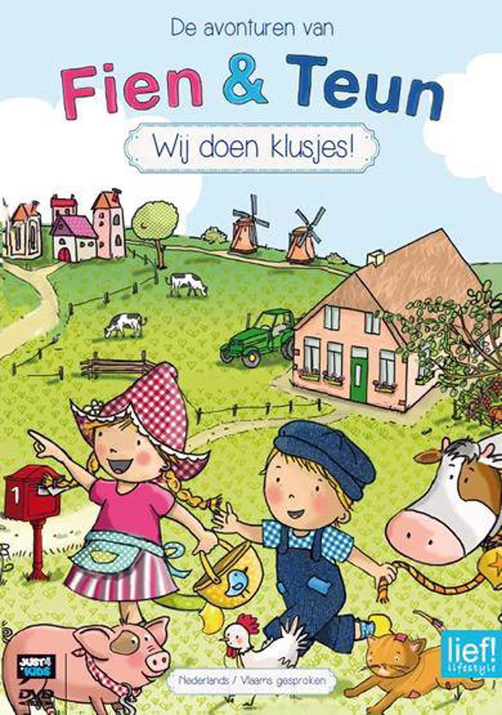 Fien & Teun - Wij doen klusjes (DVD)