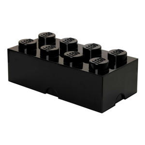 Opbergen zwarte opbergbox Brick 8 40041733