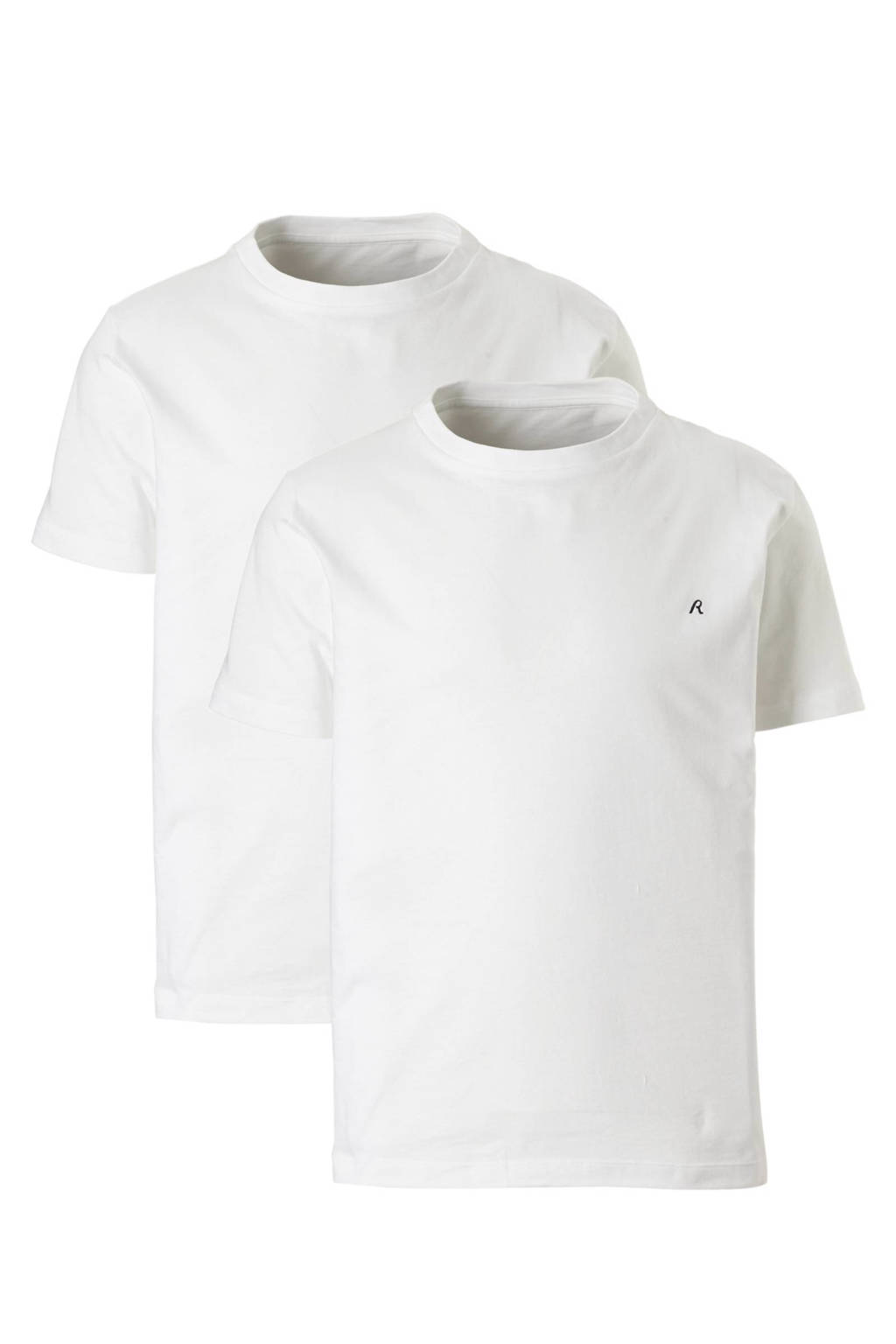 REPLAY T-shirt 2-pack, Wit