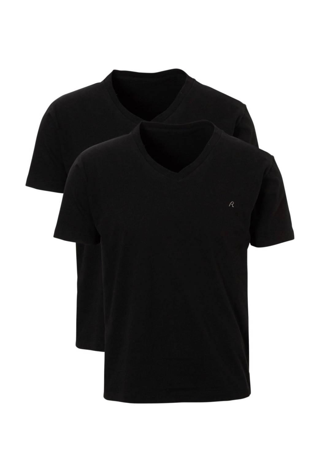 REPLAY T-shirt 2-pack, Zwart