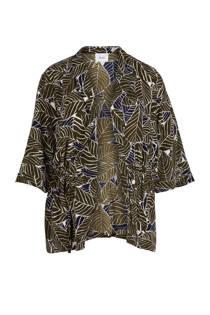 Zizzi kimono met een all over print