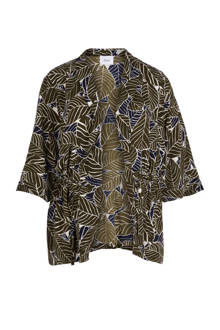 kimono met een all over print