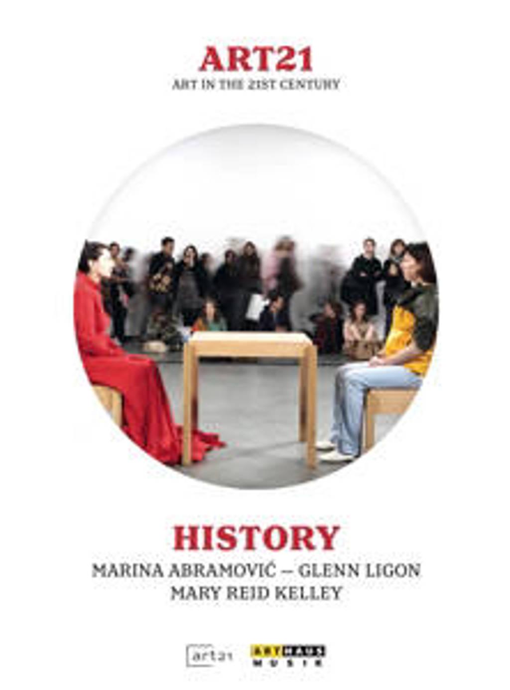 Abramovic,Ligon,Kelley - Art 21 History (DVD)