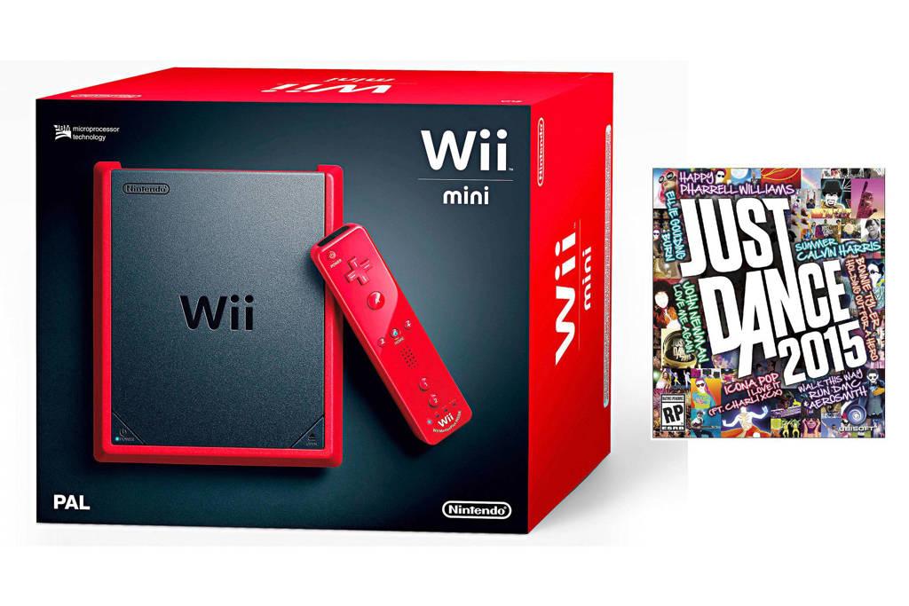 Nintendo Nintendo Wii mini +, Rood
