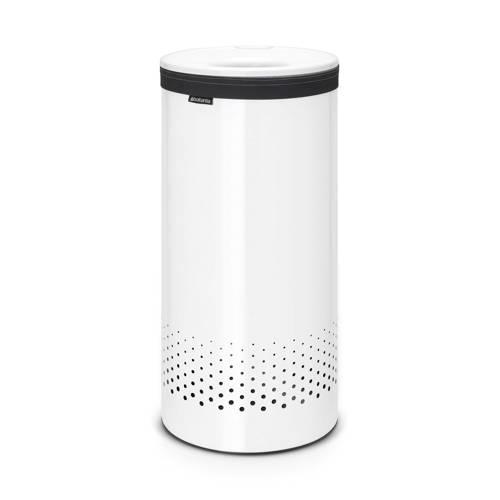Brabantia wasbox met kunststof deksel 35 liter - White/White kopen