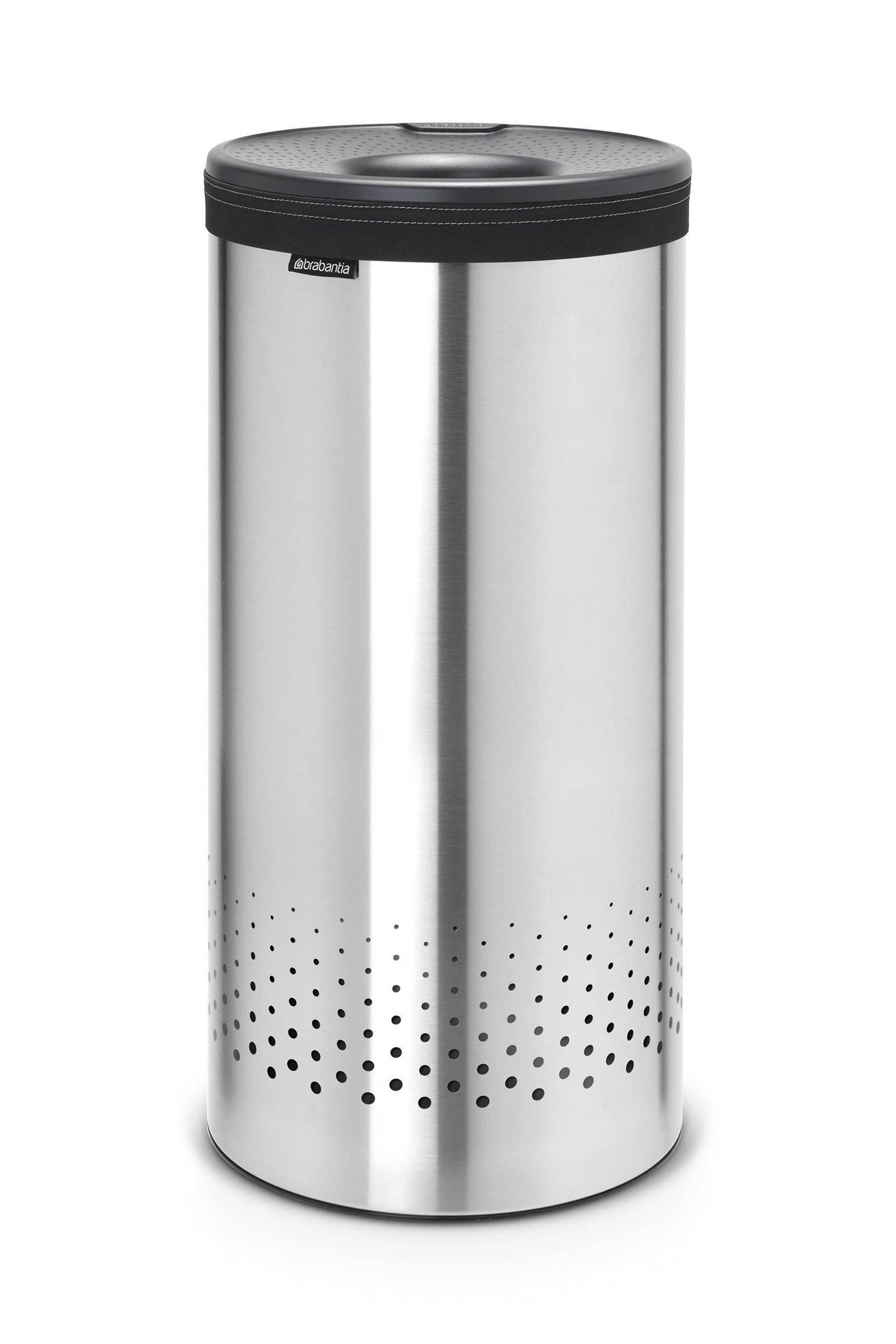 Brabantia Wasbox 30 Liter Matt Steel.Wasbox Met Kunststof Deksel 35 Liter Matt Steel Cool Grey