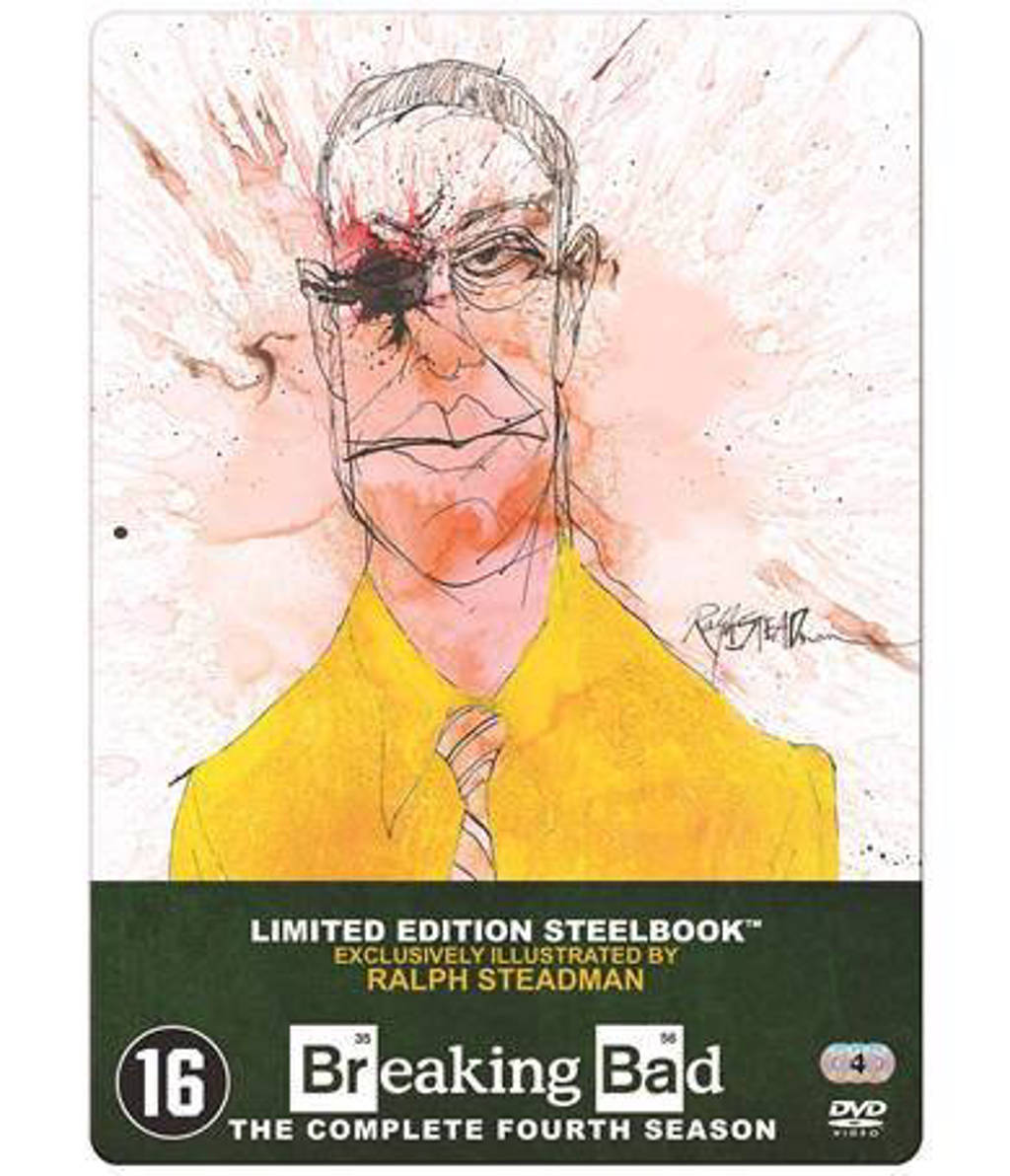 Breaking bad - Seizoen 4 (DVD)