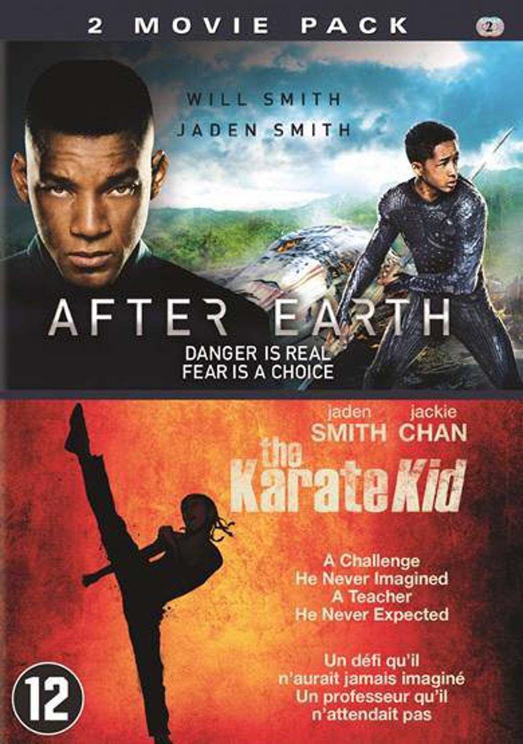 After earth/Karate kid (DVD)