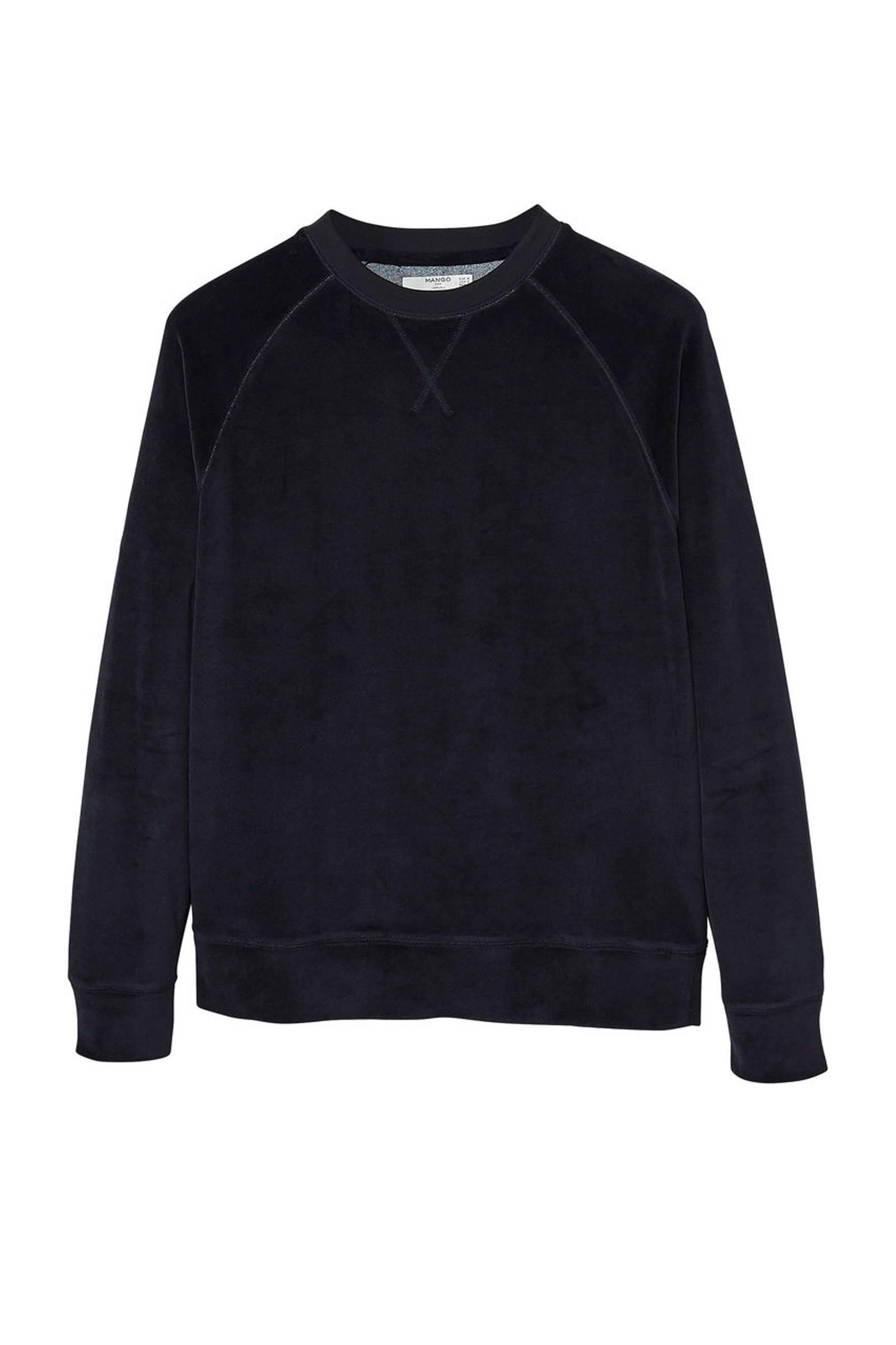 Mango Man fluwelen sweater | wehkamp
