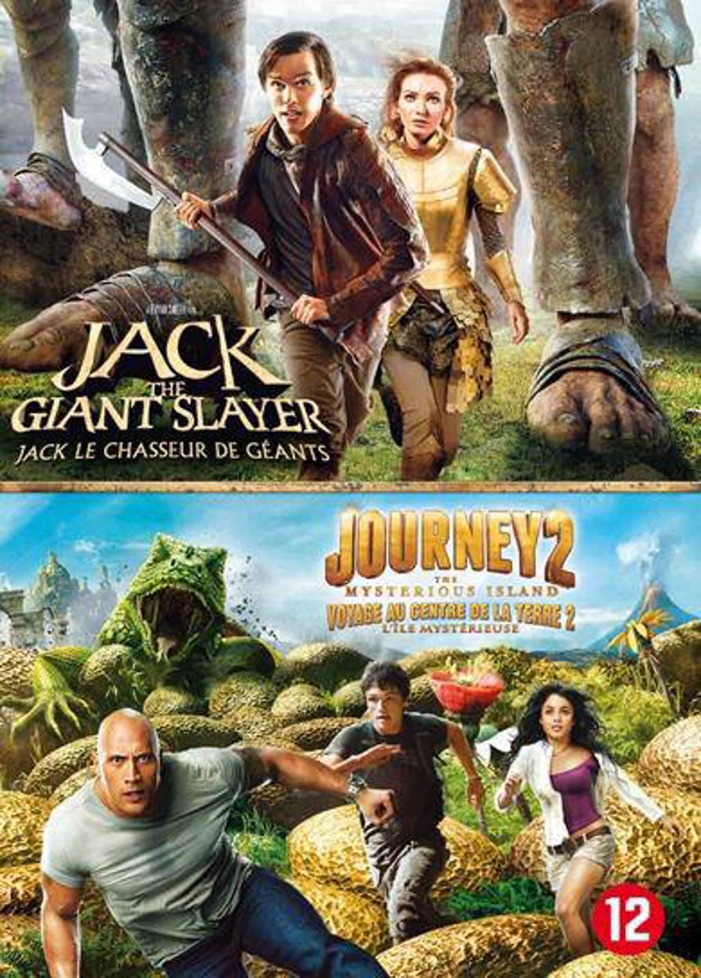Jack the giant slayer/Journey 2 (DVD)