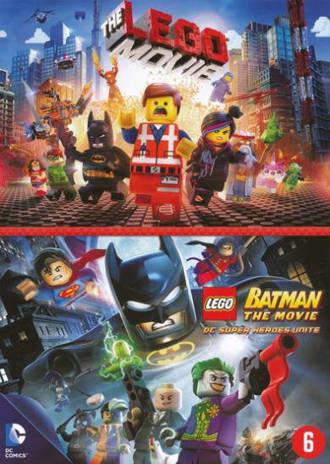 Lego movie/Lego batman movie (DVD)