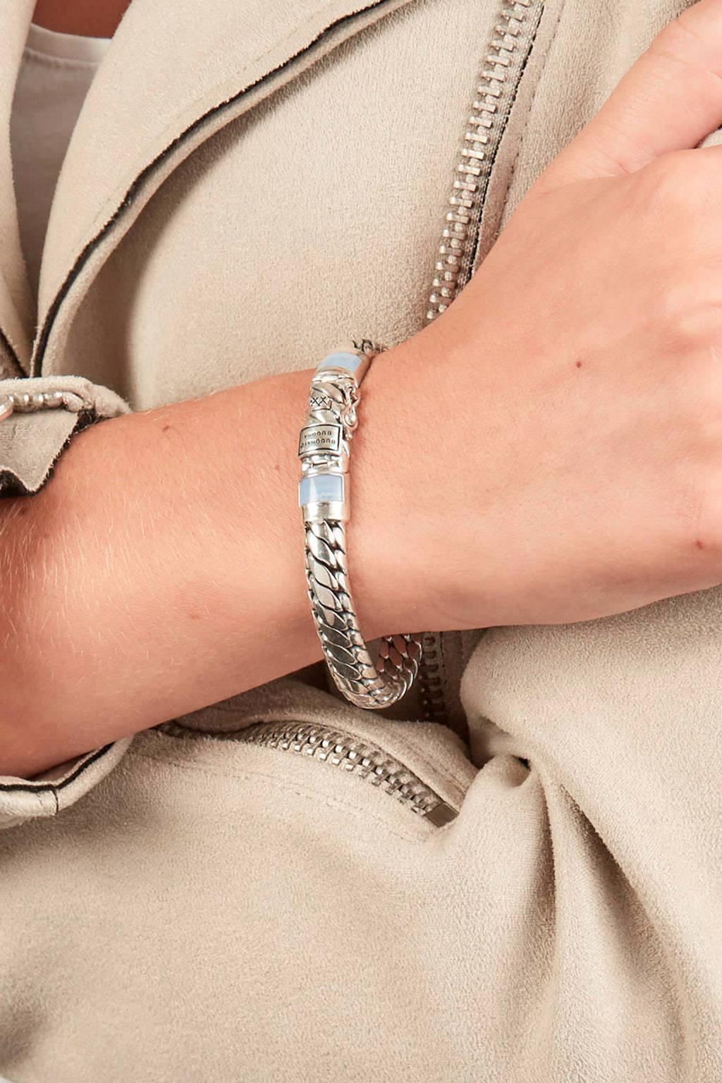 Buddha To Buddha Armband Blauw.Buddha To Buddha Ben Xs Stone Armband Wehkamp