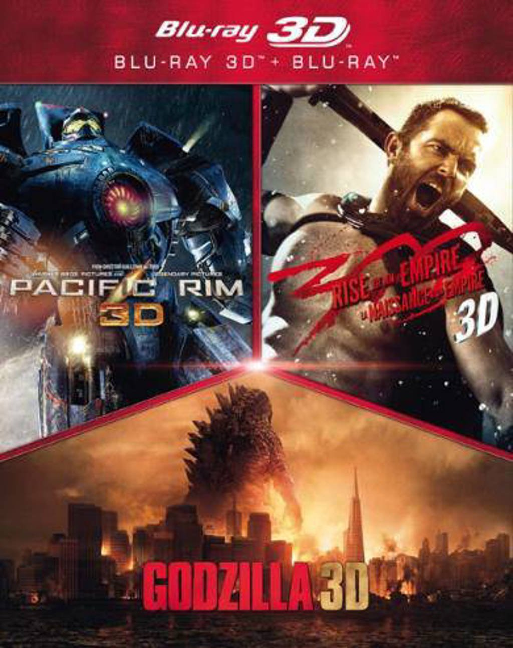 Action pack (3D) (Blu-ray)