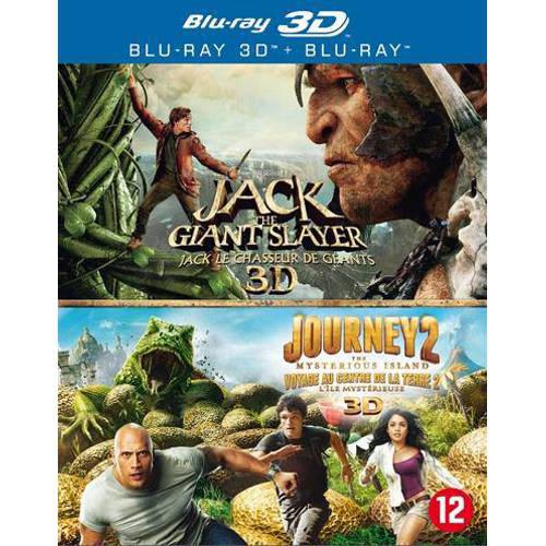Jack the giant slayer (3D)/Journey 2 (Blu-ray) kopen
