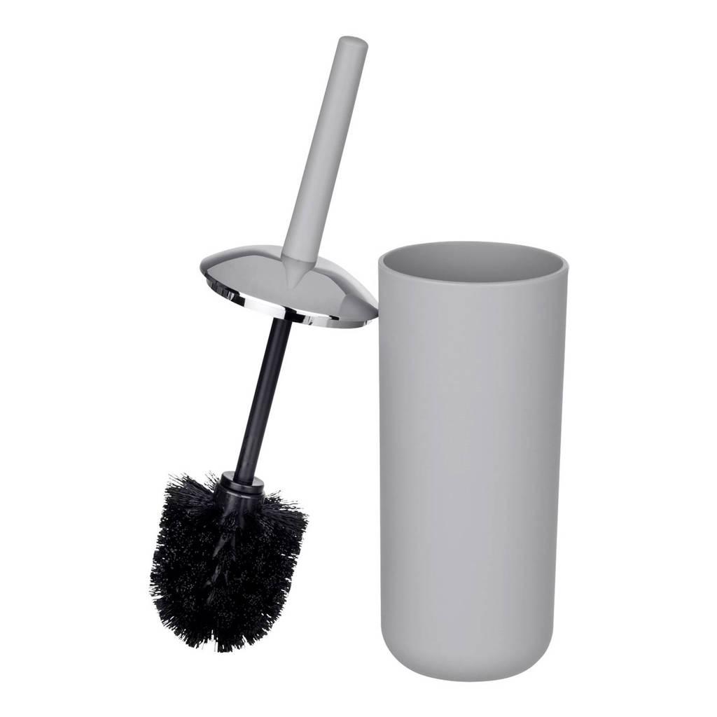 Wenko Brasil toiletborstelset, Grijs