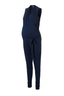 positie voedings jumpsuit met bindceintuur