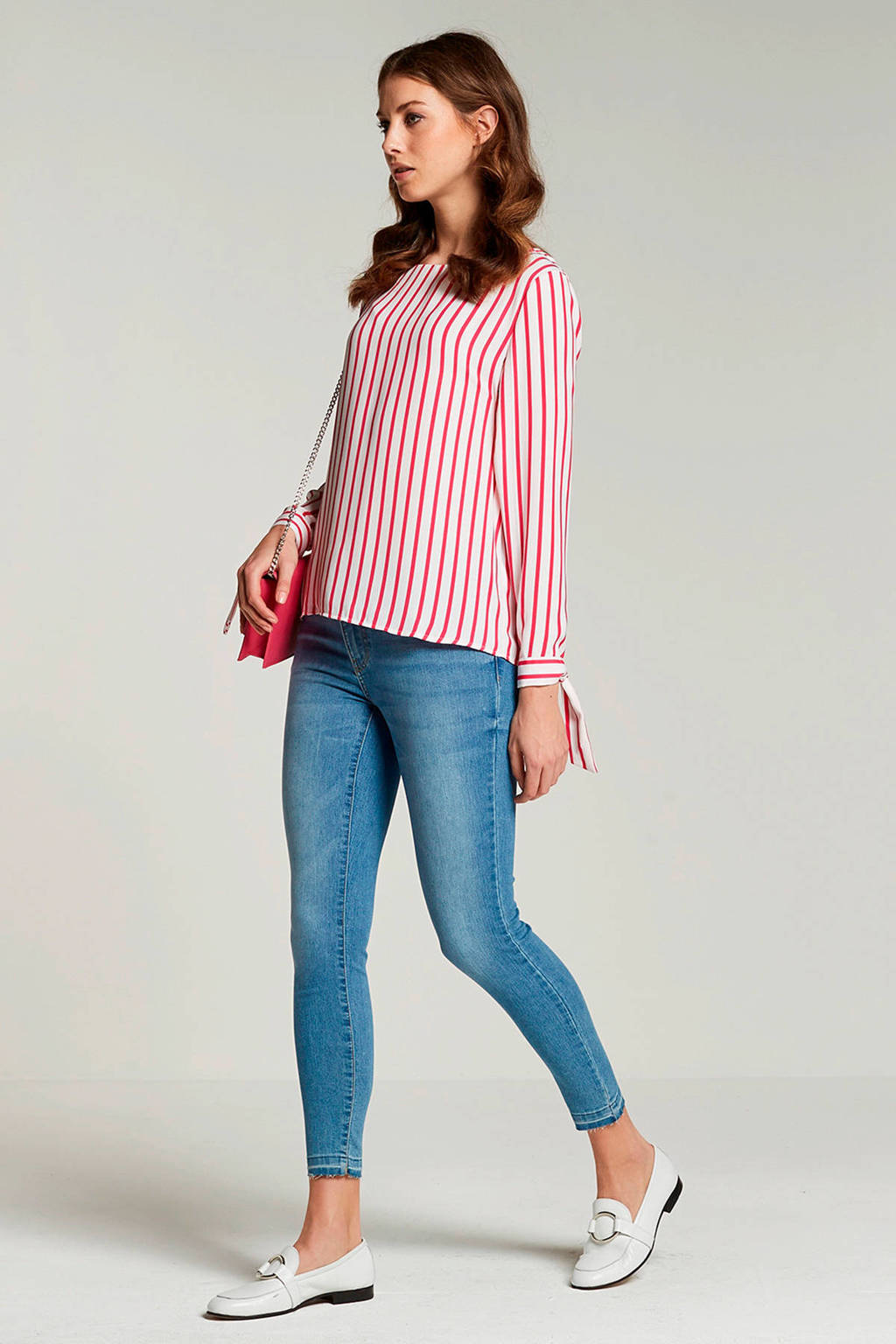 JACQUELINE DE YONG high skinny jeans, Blauw