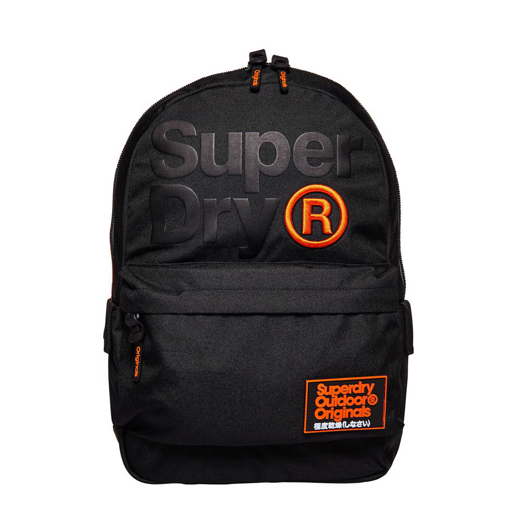 aa8036f049b Superdry rugzak, Zwart/oranje