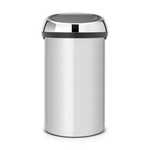 Brabantia Touch Bin Prullenbak 60 L Metallic Grey