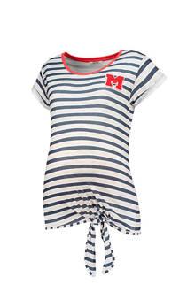 positie T-shirt met strepen