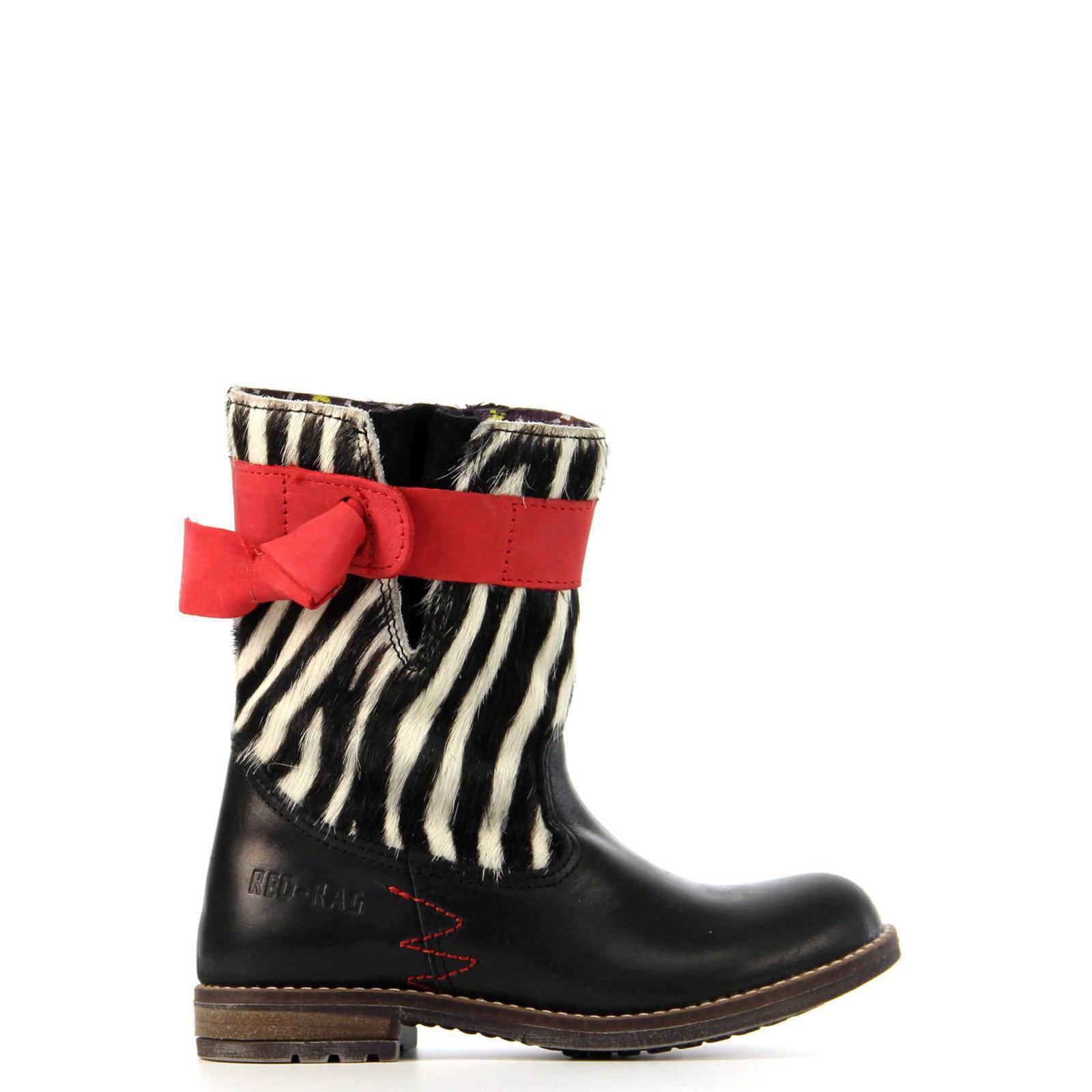 Red Rag leren laarzen meisjes | wehkamp