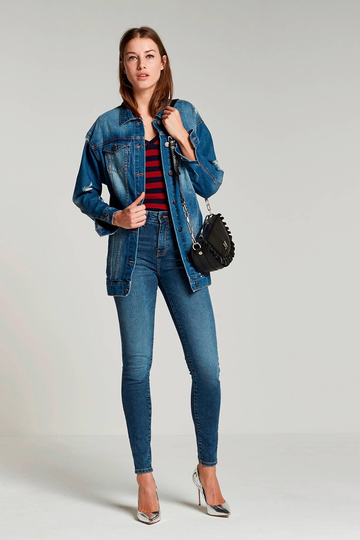 NOISY MAY oversized spijkerjasje | wehkamp