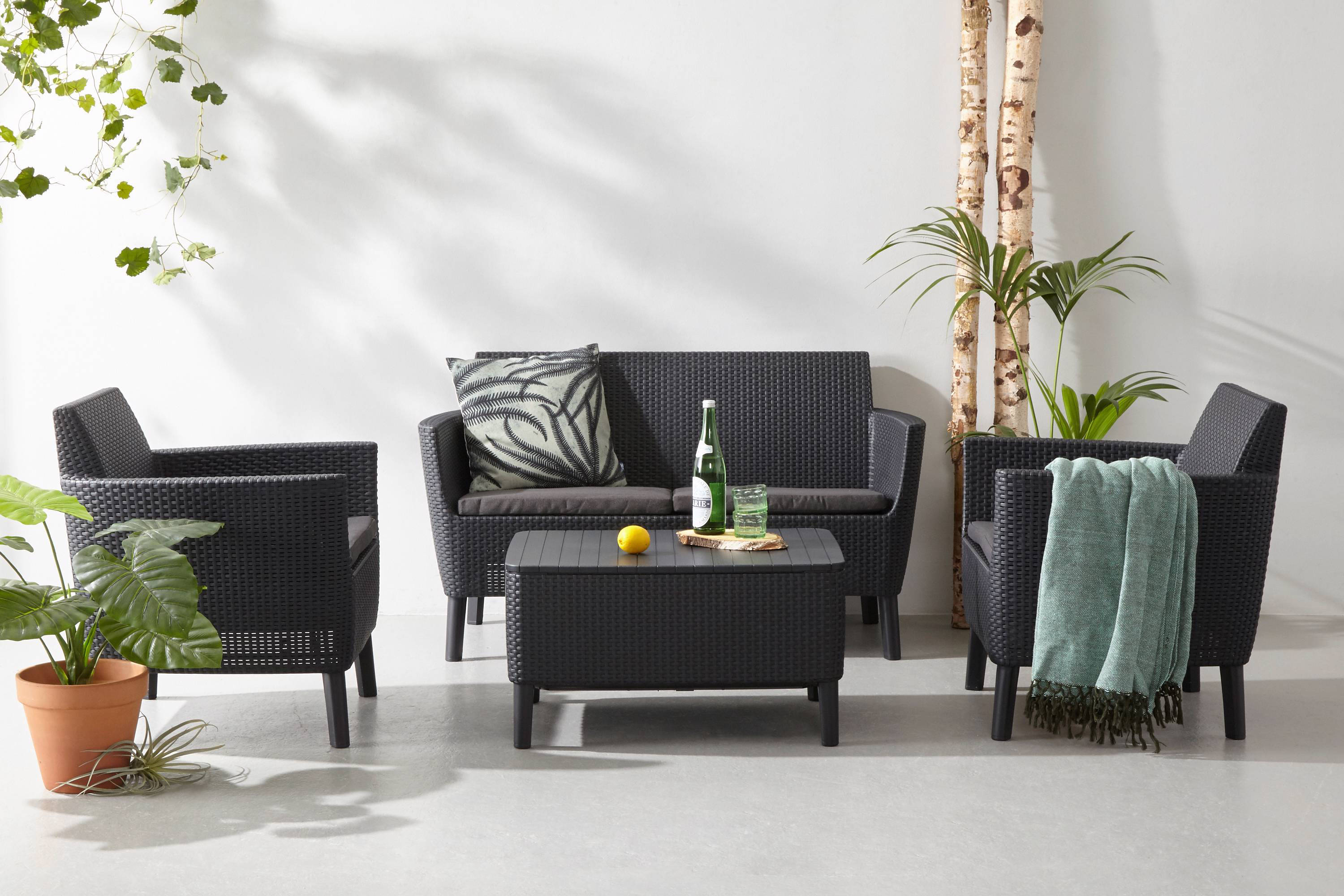 Loungeset Tuin Hout : Loungeset hout