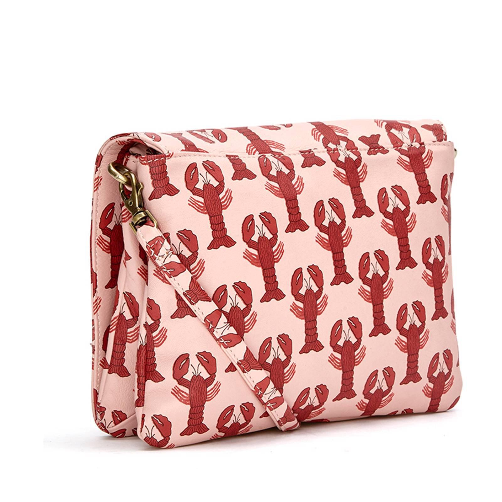 Fabienne Chapot Lara Bag Printed Lara leren crossbody tas