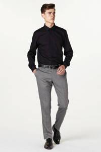 Matinique slim fit overhemd, Zwart