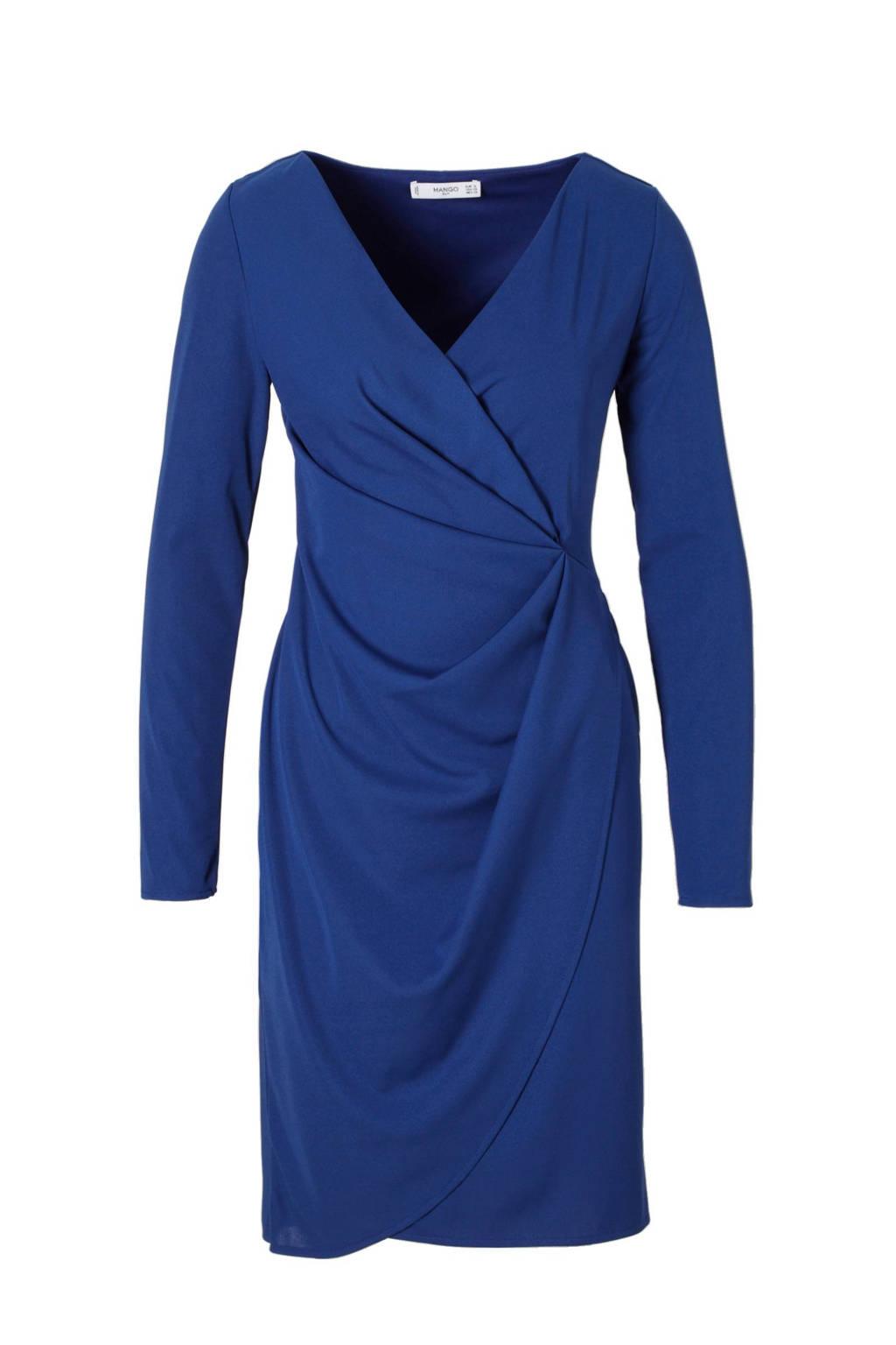 Mango jurk, Kobalt blauw