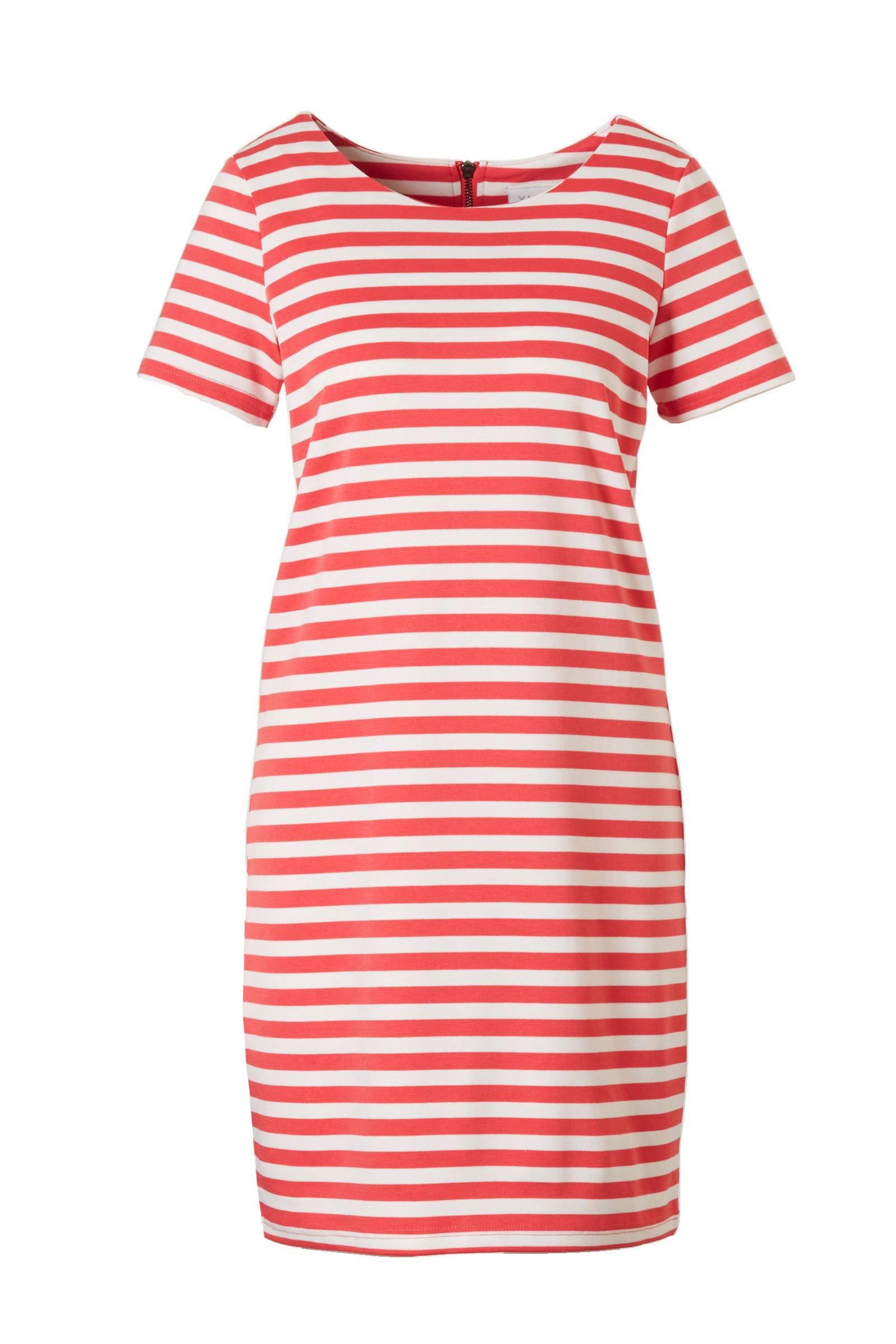 vila jurk rood