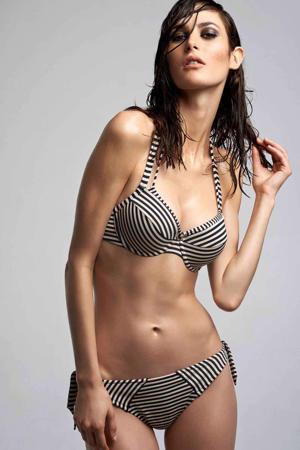 strik bikinibroekje Holi Vintage streep