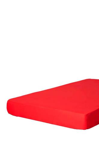 katoenen hoeslaken Rood