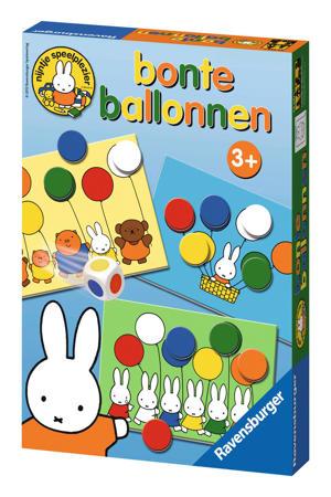 bonte balonnen dobbelspel