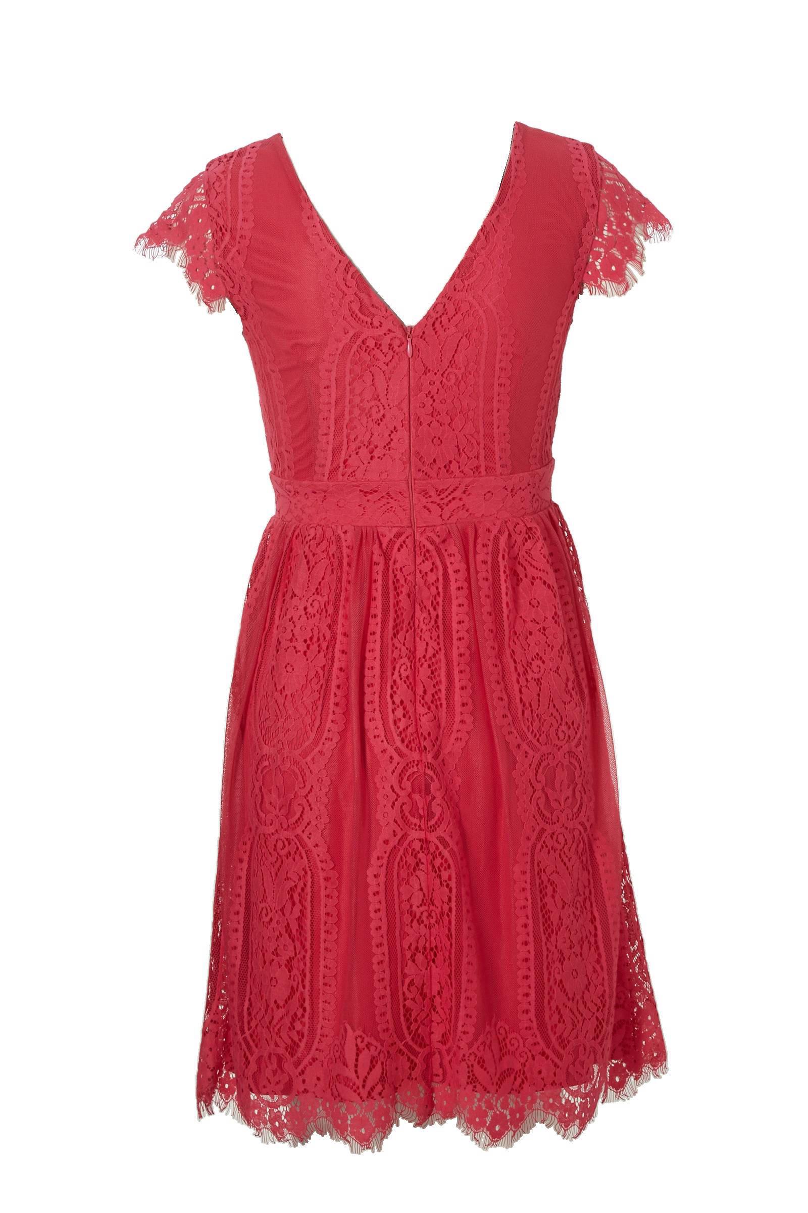 esprit jurk roze