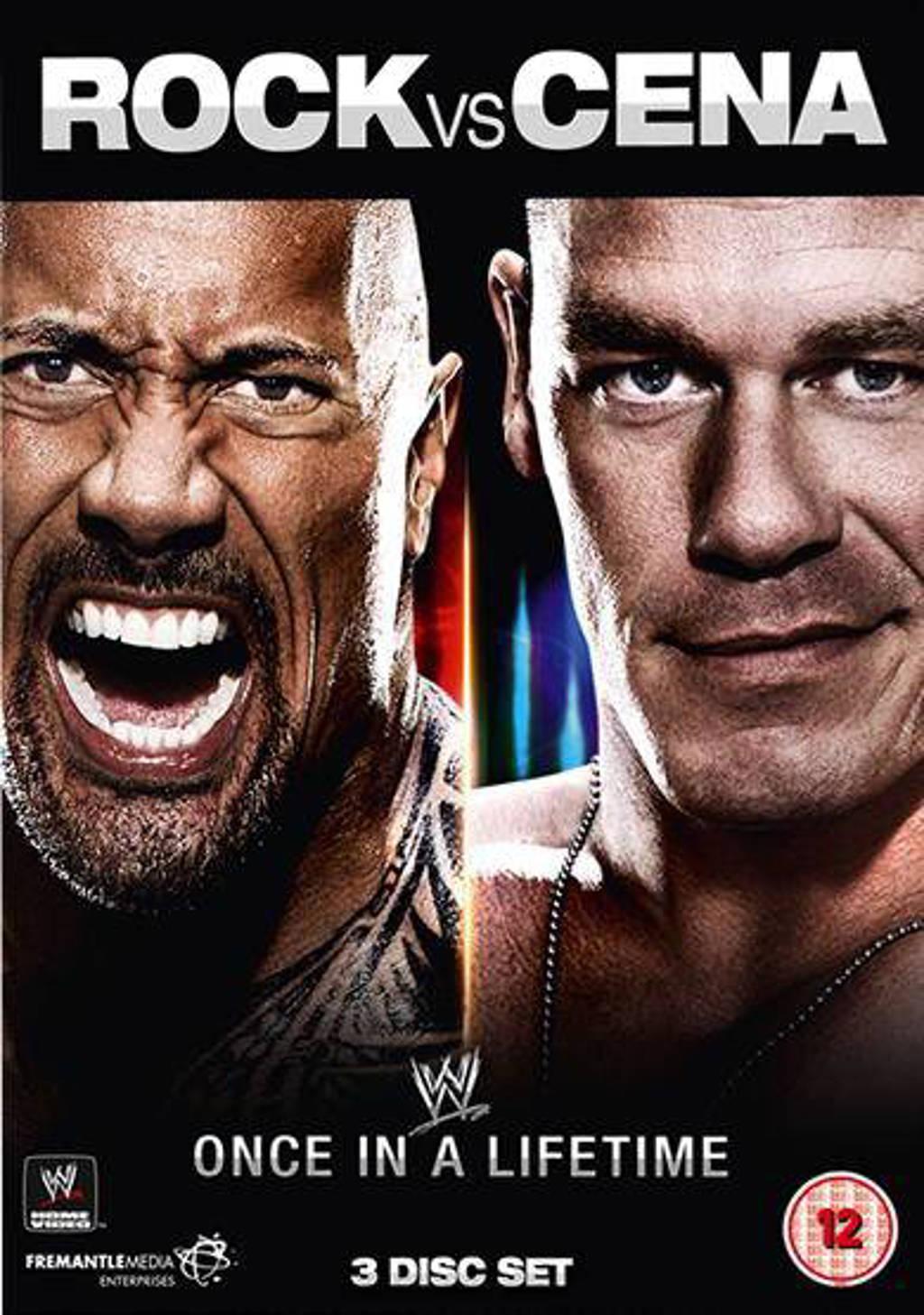 WWE - Rock Vs Cena - Once In A Lifetime (DVD)