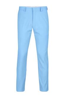 slim fit pantalon lichtblauw